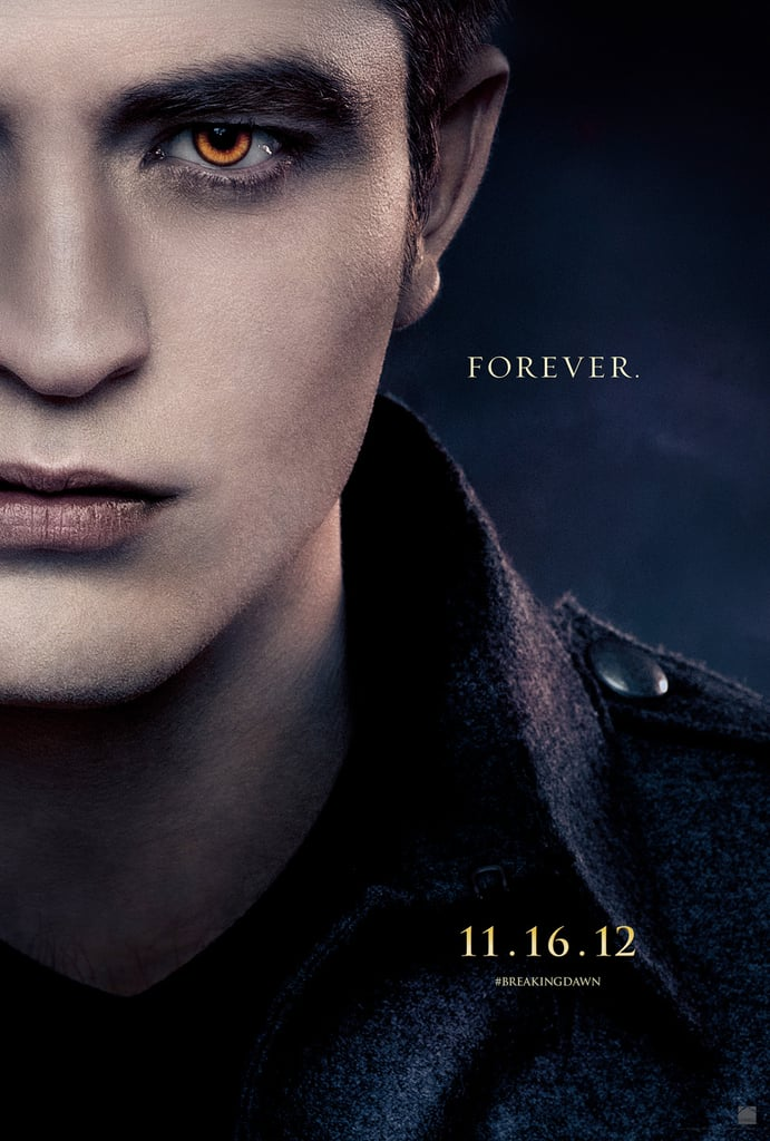 Robert Pattinson as Edward in Breaking Dawn Part 2.