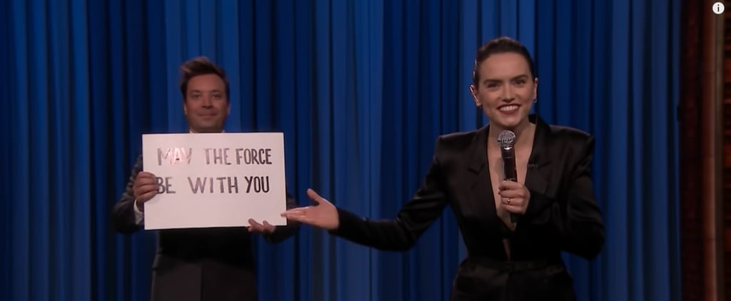 Watch Daisy Ridley's Star Wars Rap on The Tonight Show