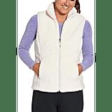 CALIA Sherpa Vest and Seamless Long Sleeve