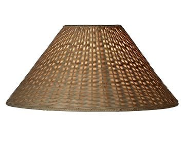 Williams-Sonoma Home Simon Pearce Nantucket Wicker Lamp Shade