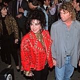 Elizabeth Taylor Wed Her Seventh Husband, Larry Fortensky, in a Gazebo at Neverland.