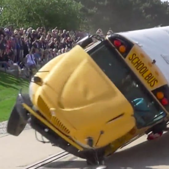 School Bus Crash Demonstration Shows Need For Seat Belts