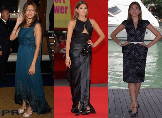 Photos of Eva Mendes at the Venice Film Festival