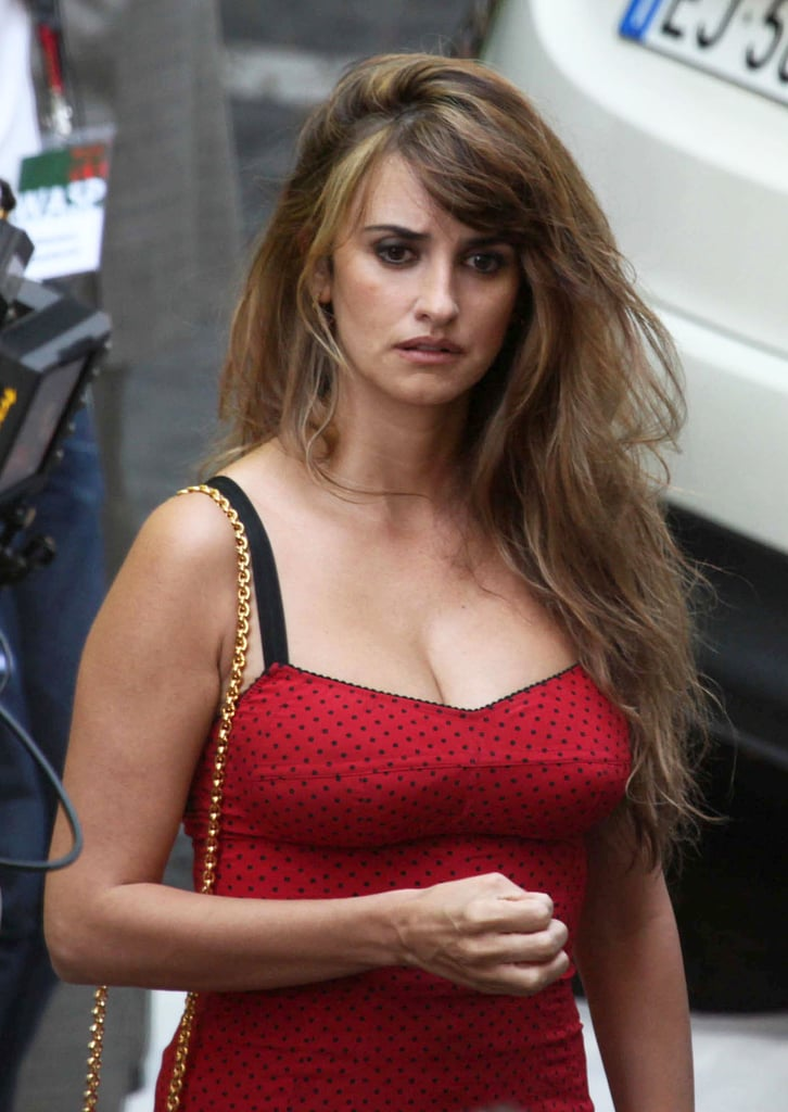 Penelope Cruz was on the set of Bop Decameron.