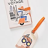 Rifle Paper Co. For Anthropologie Bon Voyage Passport Holder