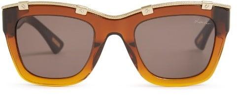 Lanvin Square-frame acetate sunglasses ($334)