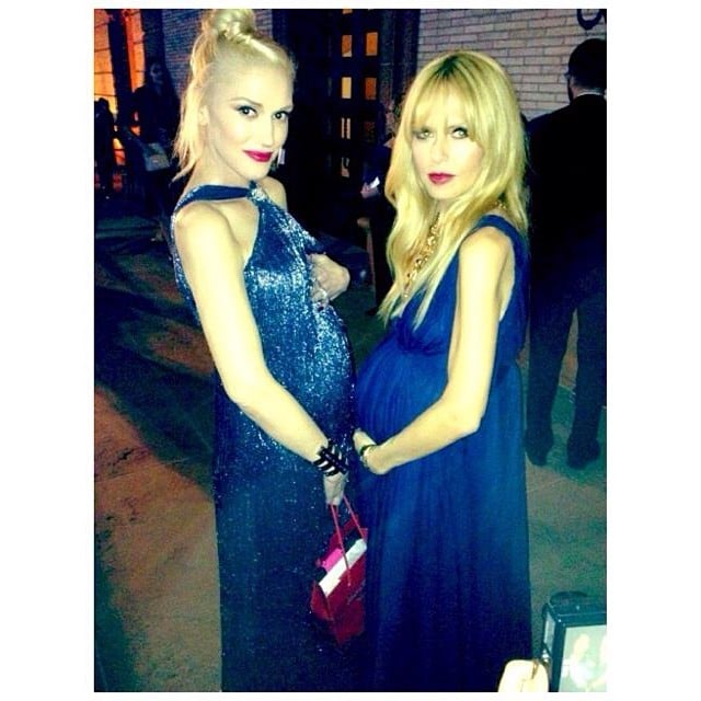 Gwen Stefani and Rachel Zoe stood bump-to-bump while at the Annenberg Gala dinner. Source: Instagram user rachelzoe