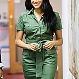 Meghan Markle Wearing a Room 502 Dress
