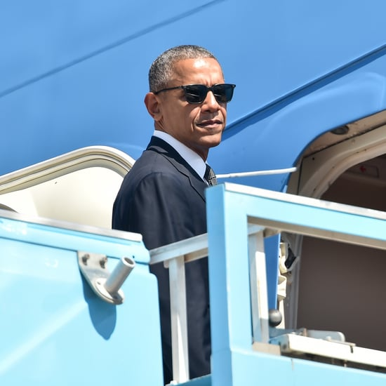 President Obama Hurries Bill Clinton Onto Air Force One