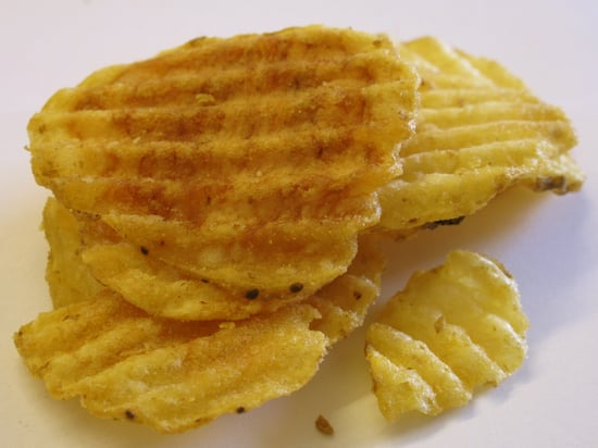 Potato chips are the natural accompaniment to our Tuna Nicoise Sandwiches; ours are sliced russets that are baked, not fried. 1. Preheat oven to degrees. Lightly coat 2 rimmed baking sheets with cooking spray; set aside. Put potatoes, oil, 1 tablespoon .