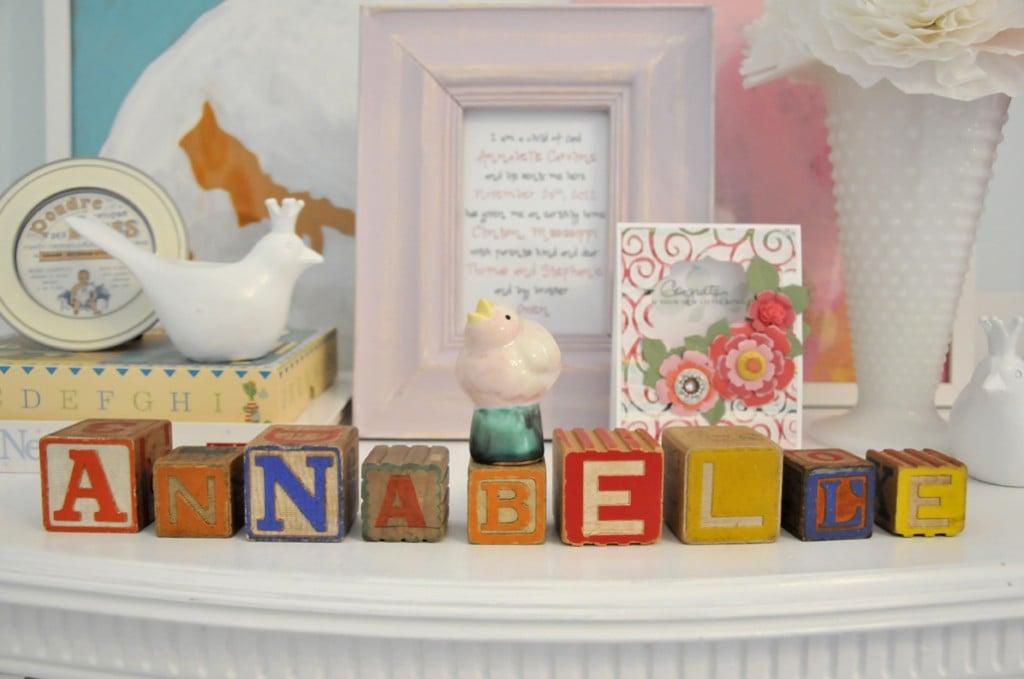 Nursery or Kids Room Decor