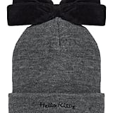 Hello Kitty X ASOS Velvet Bow Beanie With Embroidery Detail ($19)
