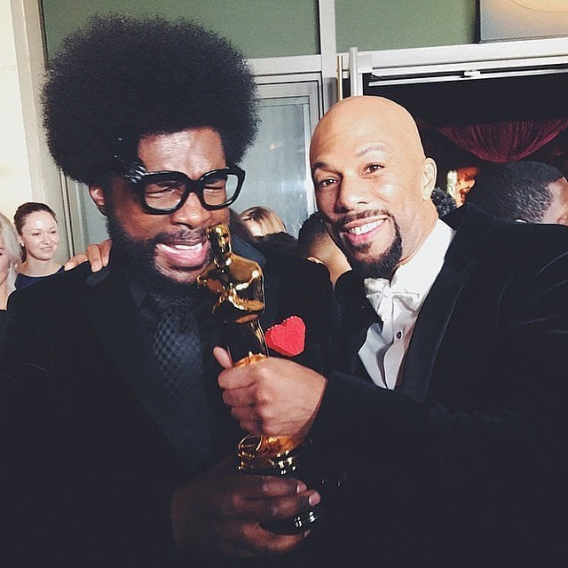Celebrity Instagram Pictures From the Oscars 2015