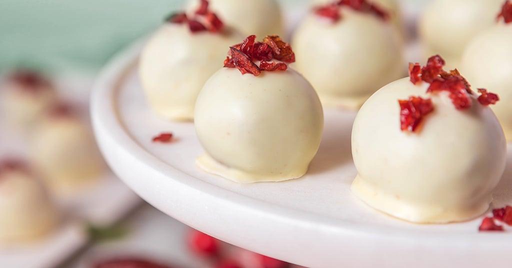 Medjool Date Cranberry-Orange Truffles