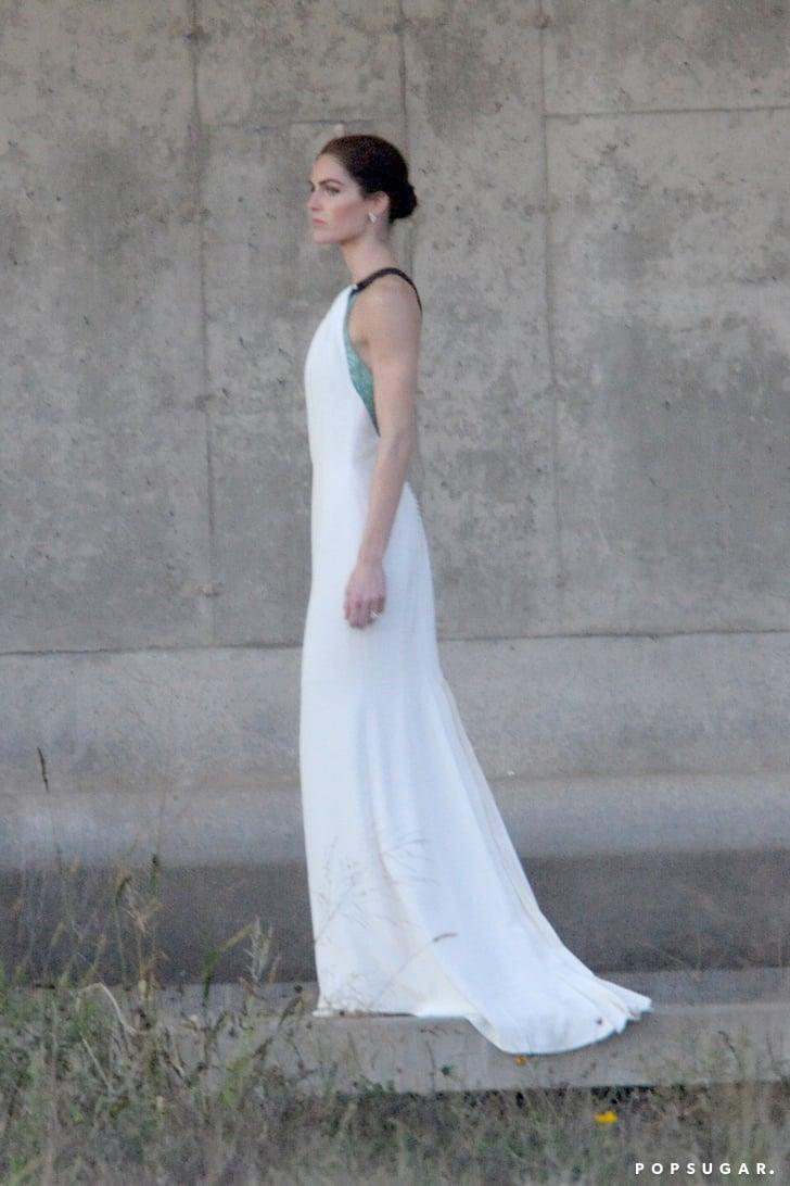 Hilary Rhoda Wedding Dress | POPSUGAR Fashion Photo 1