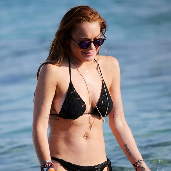 Lindsay Lohan in a Bikini in Greece | Pictures