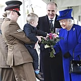 British Royal Family at Iraq Memorial Dedication March 2017