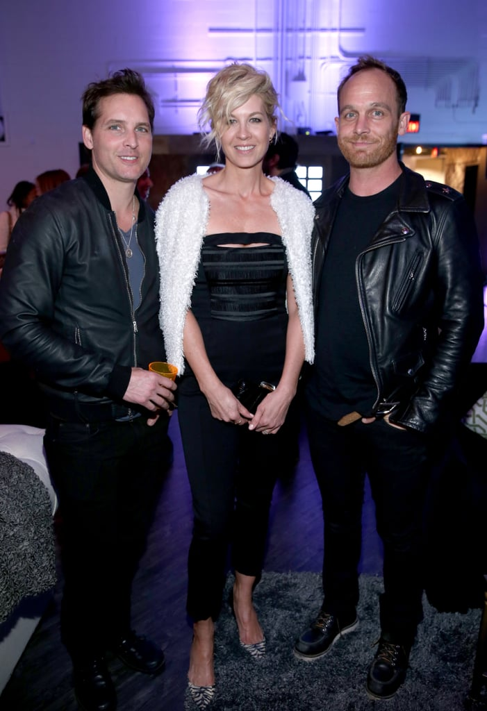 Peter Facinelli, Jenna Elfman, and Ethan Embry posed for a picture.