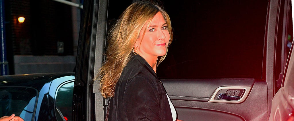 Jennifer Aniston Shows Us How to Wear the Boyfriend Jean For Date Night