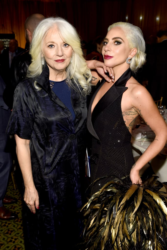 Lady Gaga and Her Mum at 2019 National Board of Review Gala