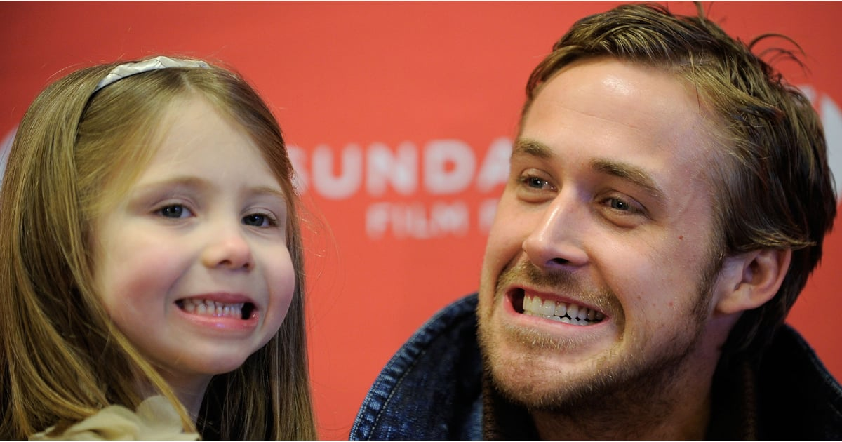 Pictures of Ryan Gosling With Kids | POPSUGAR Celebrity ...