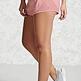 Forever 21 Active Sheer Mesh Insert Shorts