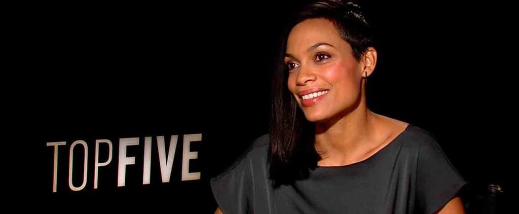 Rosario Dawson on Chris Rock in Top Five | Interview