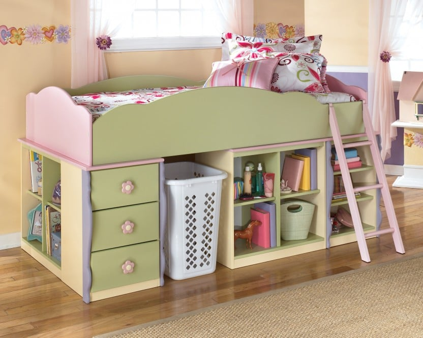 Doll House Twin Loft Bed ($611, originally $1,017)