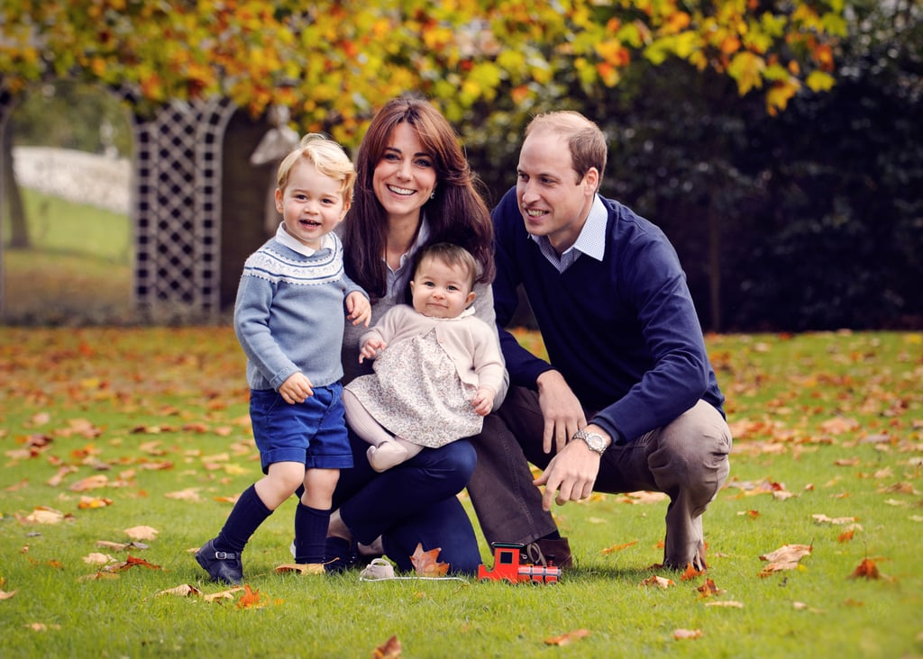 In December 2015, Kate Middleton and Prince William released a new royal family portrait ahead of the holidays.