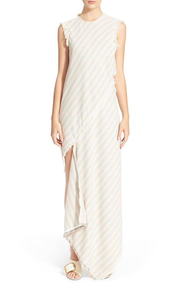 "Acne Studios ""Cosby"" Stripe Sleeveless Dress ($1,050)"