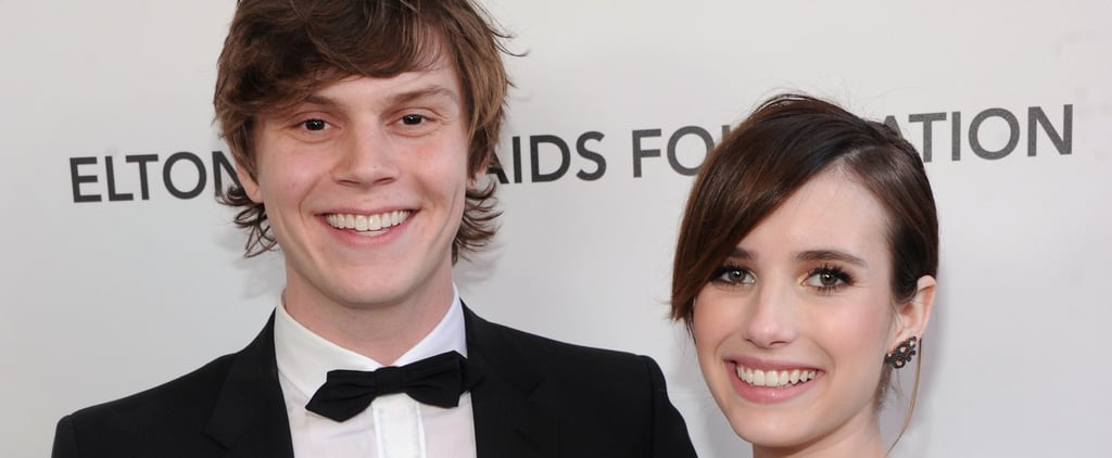 Emma Roberts Isn't the Only American Horror Story Costar Evan Peters Has Fallen For