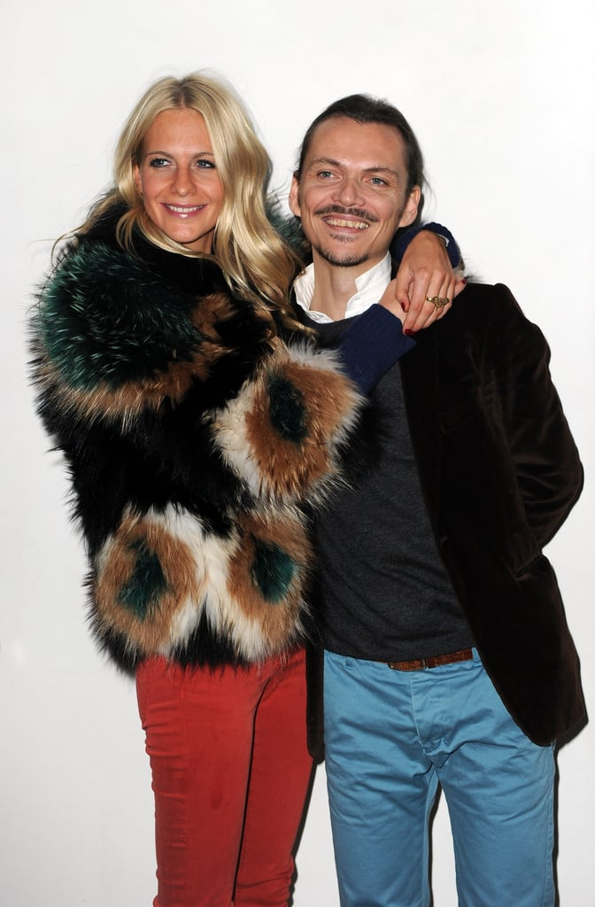 Poppy Delevingne and Matthew Williamson