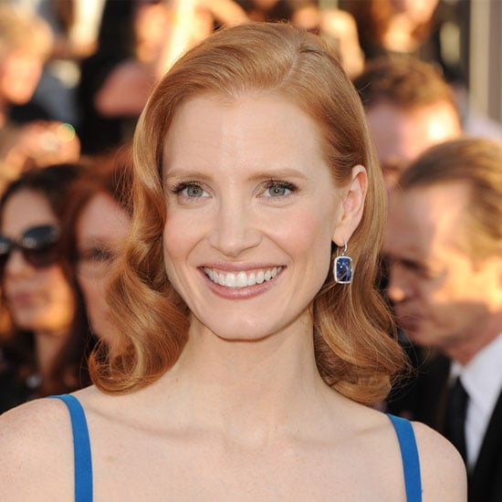 Jessica Chastain's Old-School Waves