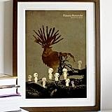 Hayao Miyazaki Anime Movie Poster Series — Princess Mononoke ($18)