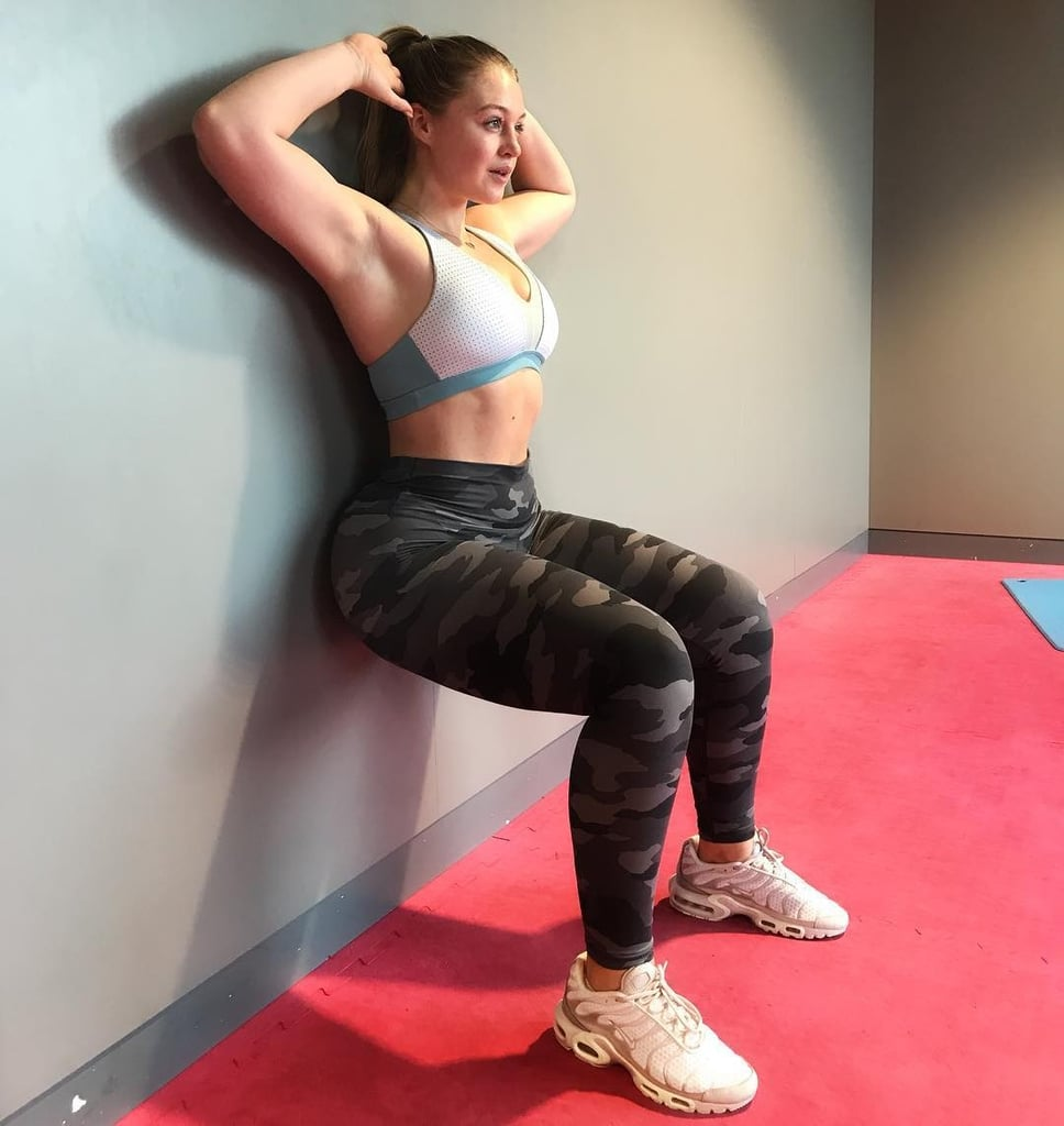 Iskra Lawrence Bum and Glute Workout