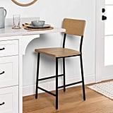 Hearth & Hand Wood & Steel Counter Stool