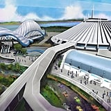 What Walt Disney World's Tron Lightcycle Power Run Will Look Like