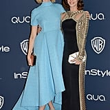 Masters of Sex stars Caitlin Fitzgerald and Lizzy Caplan showed up together.
