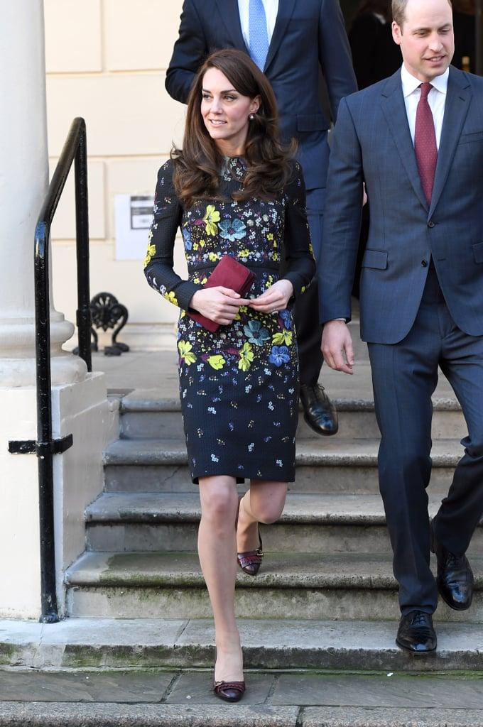 Kate in Erdem, January 2017   Kate Middleton Best Looks ...