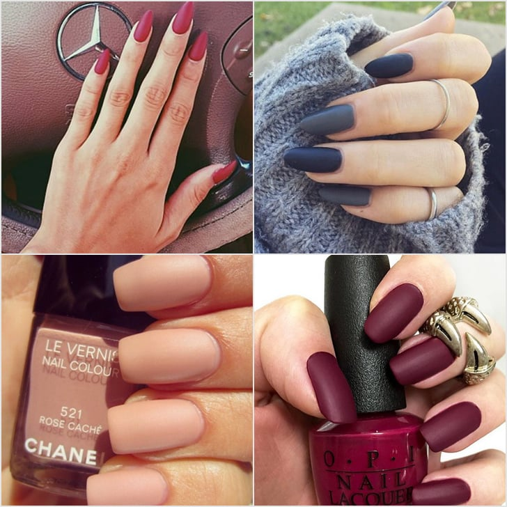 Matte Manicure Ideas Popsugar Beauty Uk