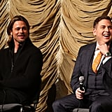 Brad Pitt and Jonah Hill Spend Another Night Side By Side