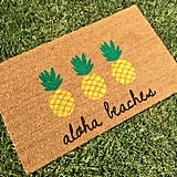 Aloha Beaches Pineapple Doormat ($41)