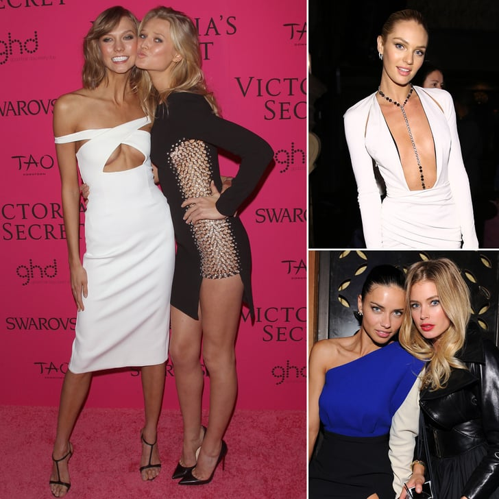 VS Models Left the Bras at Home For the Afterparty