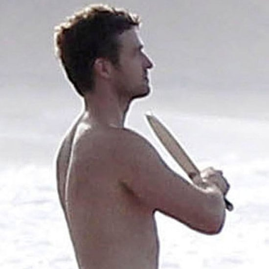 Justin Timberlake Jessica Biel at Beach in Puerto Rico Video