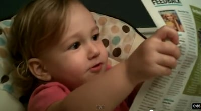 Adorable 18-Month-Old Explains Brad Pitt's Appeal (VIDEO)