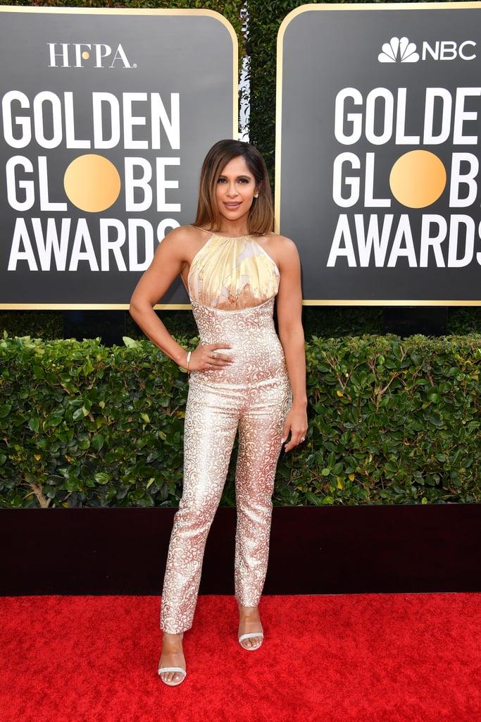 Sangita Patel at the 2020 Golden Globes