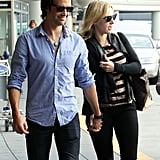 Kate Winslet and Ned Rocknroll touched down in San Francisco for an October 2011 visit.