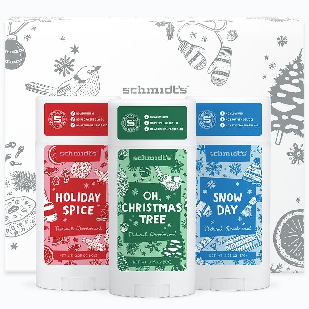 Holiday Deodorant Scents 2018