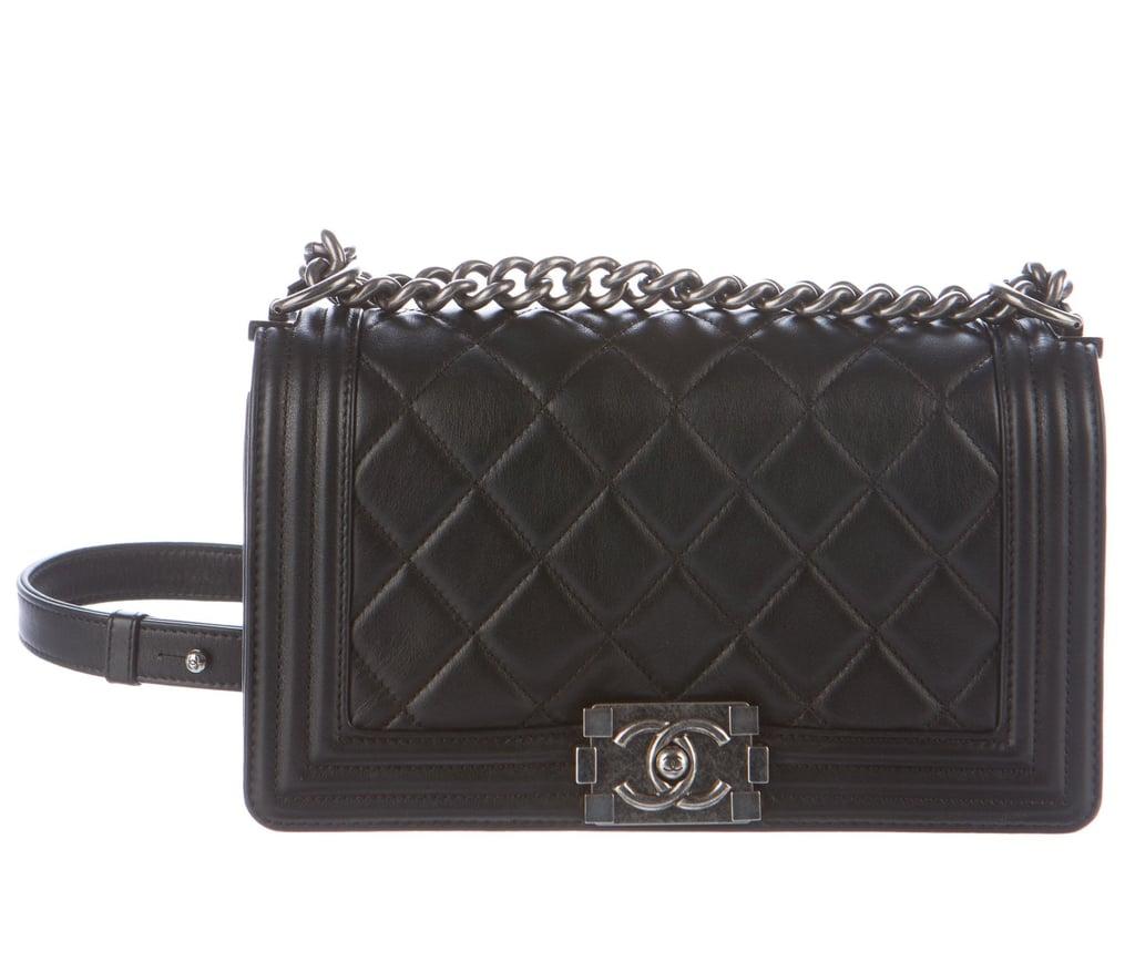 Chanel Quilted Medium Old Boy Flap Bag | Chanel Sale | POPSUGAR ... : chanel quilted boy - Adamdwight.com