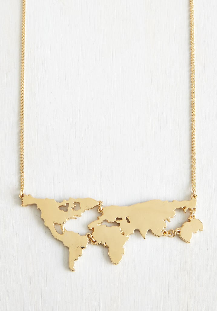 Map Necklace
